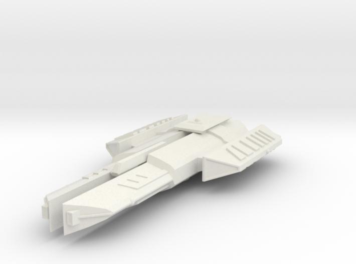 3788 Scale Ymatrian Rapier Destroyer Leader MGL 3d printed