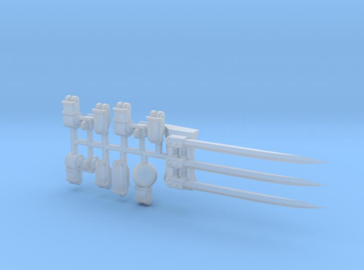 Knight Fist Claw 2.0 3d printed