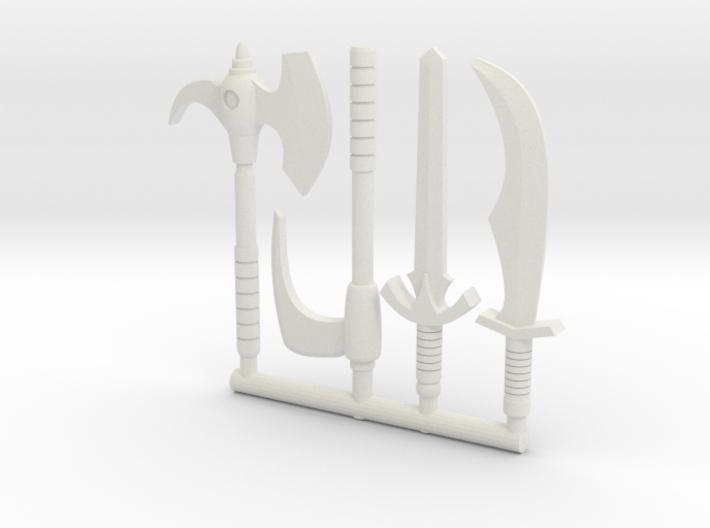 Galaxy Warriors Weapons (Mega Construx/Lego)  3d printed