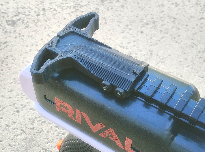 M27 Priming Handle (Short) for Nerf Rival Heracles 3d printed
