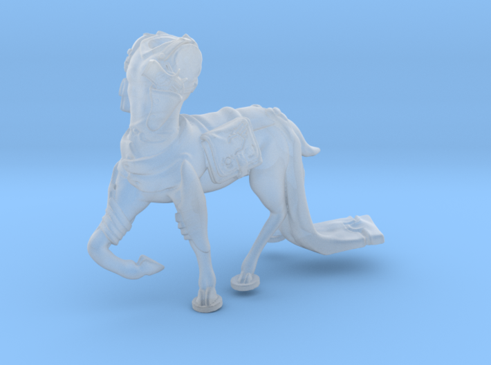 Anthropomorphic male light armor deer taur 1 (HSD 3d printed