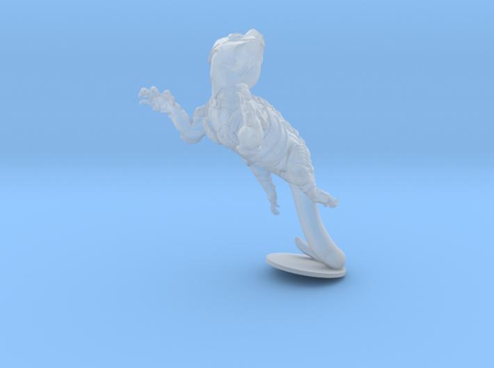 Anthropomorphic male heavy armor lizard taur 2 (H 3d printed