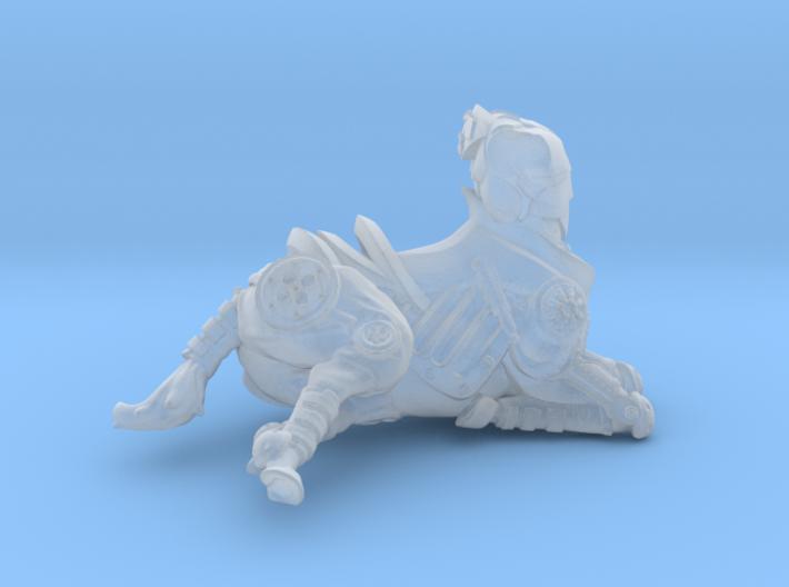 Anthropomorphic male heavy armor centaur 1 (HSD mi 3d printed