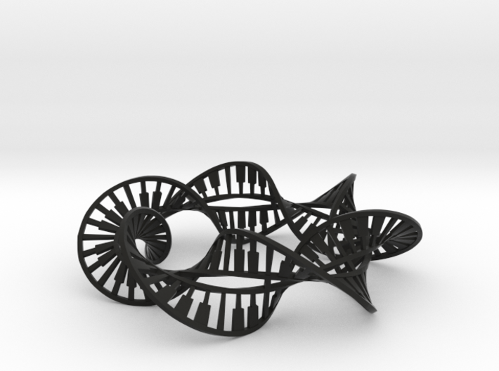 Double Piano Helicoid Circle 3d printed