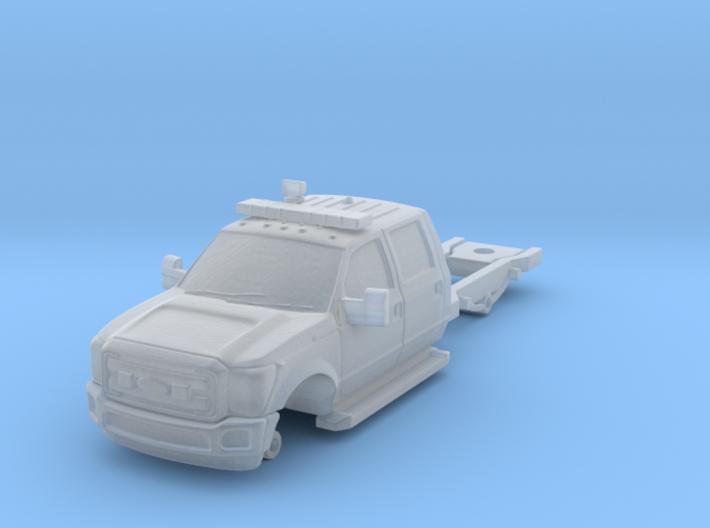 1/160 F550 4 Door Long/Medic/Ambulance Chassis 3d printed