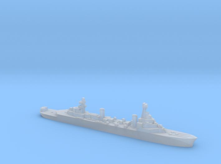 French Pluton minelaying cruiser WW2 1:1800 3d printed