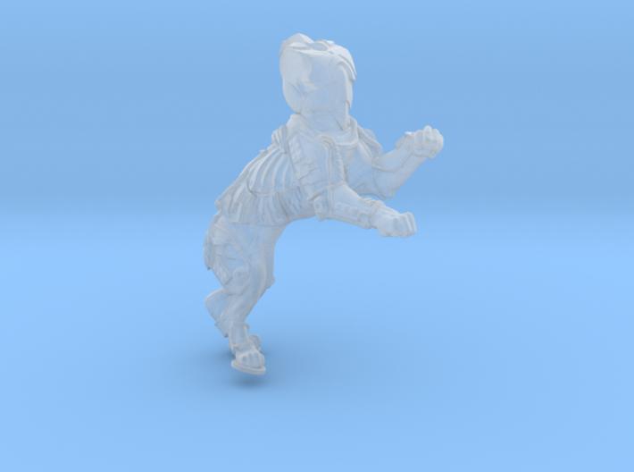 Anthropomorphic male heavy armor cat taur 1 (HSD m 3d printed
