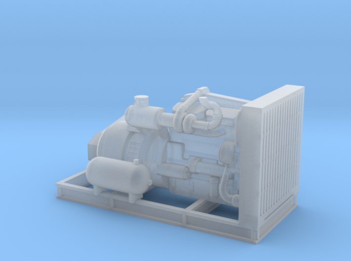 1/87th Engine For Thunderbird swing yarder 3d printed