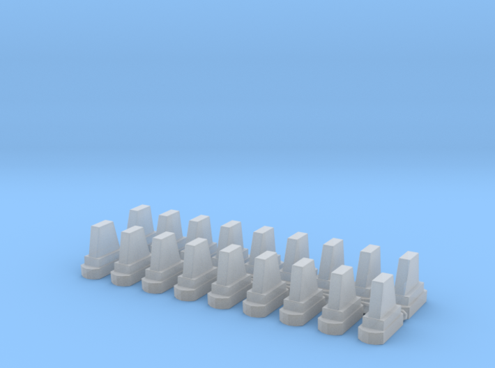 2019 Indycar Advanced Frontal Protection 1:43 scal 3d printed