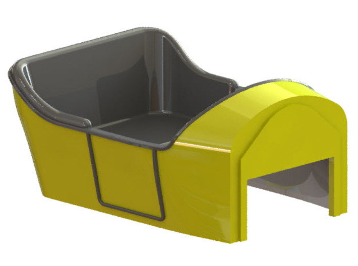 Body for Stutz Roadster c1912-14 3d printed CAD-model