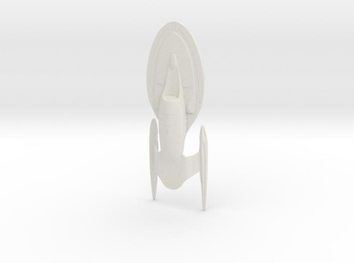 Intrepid Class Refit - 15cm 3d printed