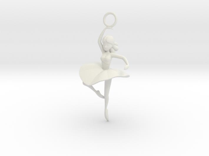 Cute Cosplay Charm - Dancer 3d printed