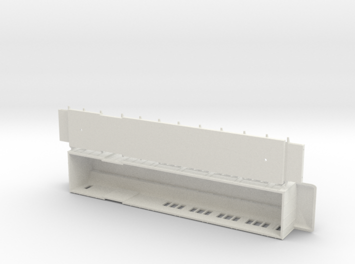 BFo1 model 00 - Swedish passenger wagon 3d printed