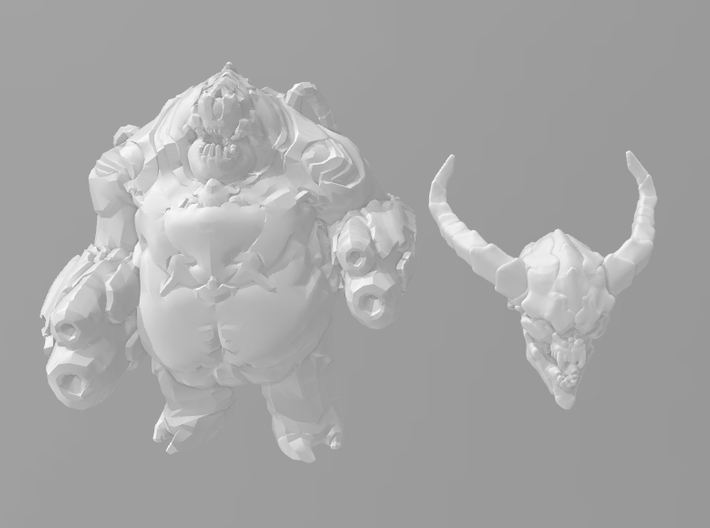 Doom Lostsoul 1/60 miniature for games and rpg 3d printed