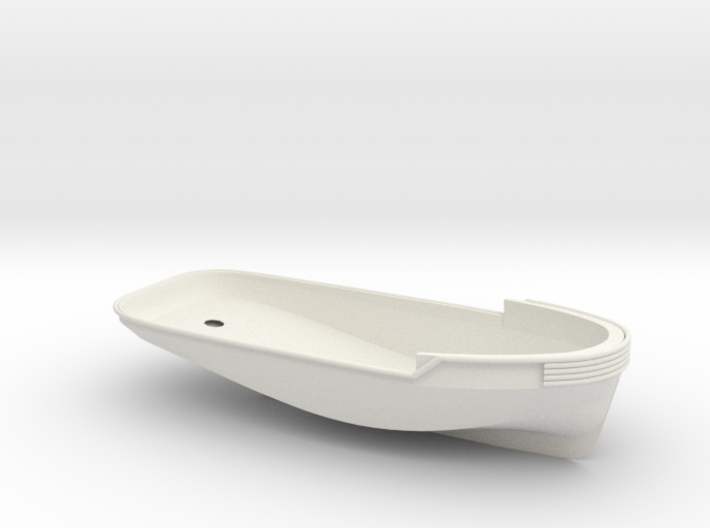 1/24 YTB Tugboat Hull 3d printed
