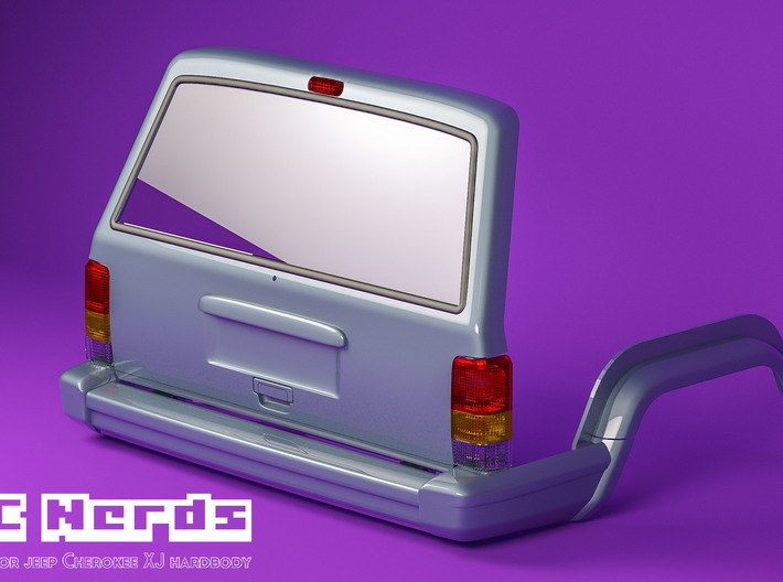 RCN218 Rear lenses for Tailgate Jeep XJ 3d printed