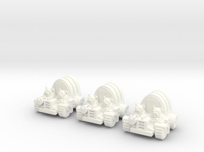6mm - Pigmen Soft Top Transport x 3 3d printed