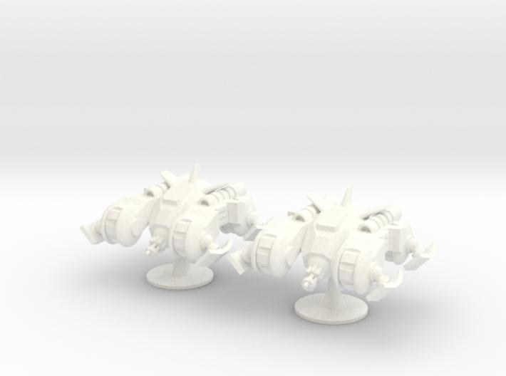6mm - Anti Grav Fast Attack Skimmer 3d printed