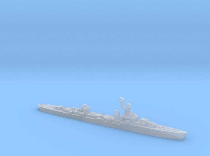 French cruiser Émile Bertin c1943 WW2 1:3000 3d printed
