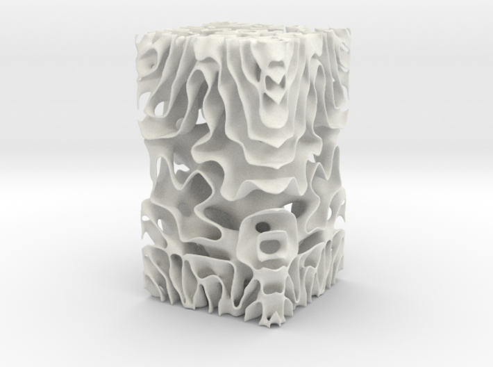 Implicit Surface J 3d printed