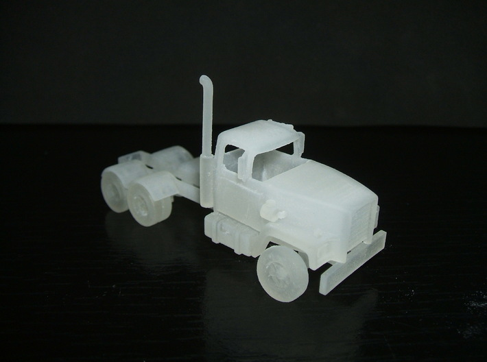 "1/87 ""HO"" scale 1965 Sicard B-6430 truck tractor 3d printed"