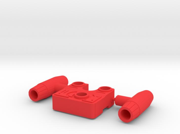 SIEGE: Ironhide Tactic Pack 3d printed
