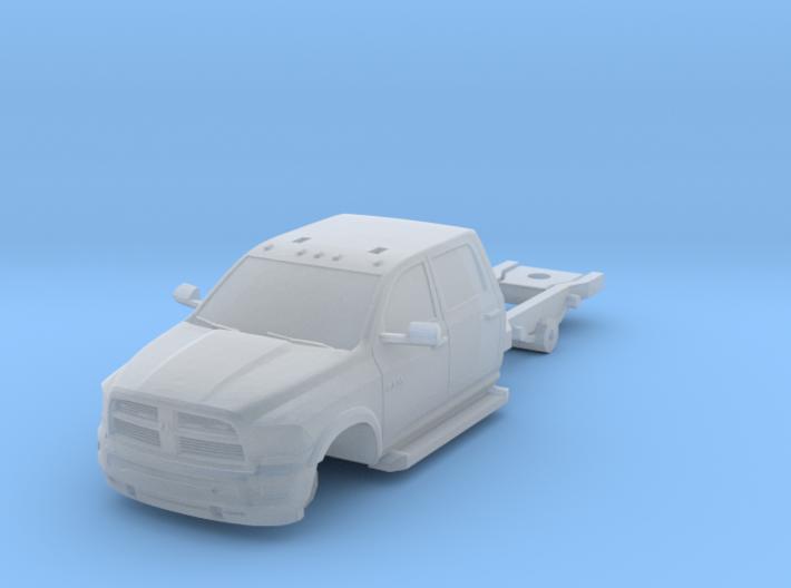 1/160 Dodge 4 Door Long Medic/Ambulance Chassis 3d printed