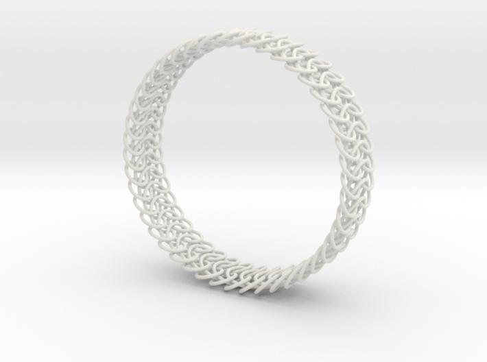 Euro 6-in-1 Chainmail Bracelet B 3d printed