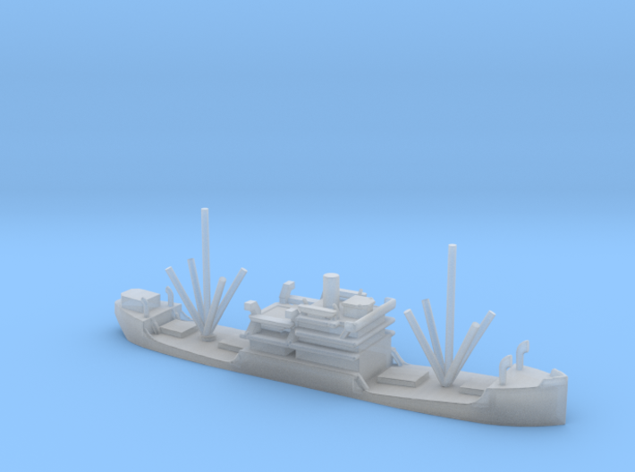 1/1250 Scale 3500 ton Cargo Steamer Quinneseco 3d printed