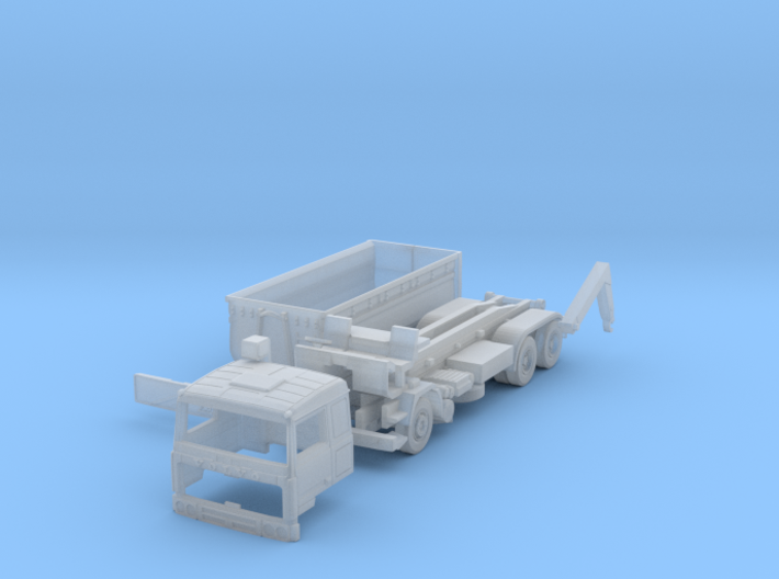 Volvo F10 Hook lift w. container (British N 1:148) 3d printed