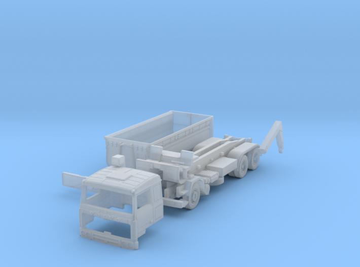 Volvo F10 6x4 Abrollkipper mit Abrollcontainer TT 3d printed