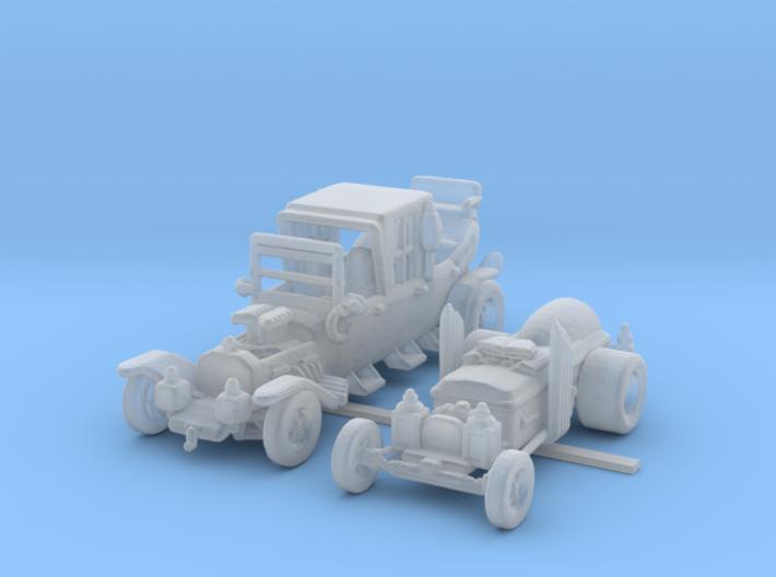 Munster Koach Dragula 160 Scale 3d printed