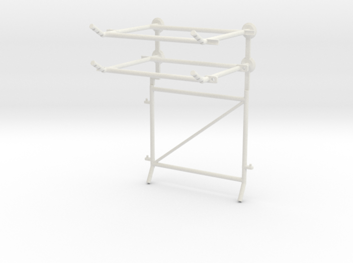 10' Chain-Link Fence Vehicle Gate, R/Latch 3d printed Part # CL-10-014