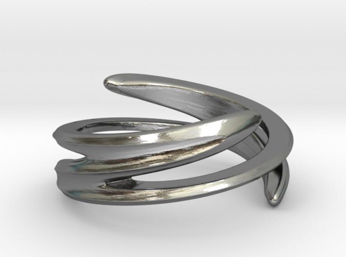 Fluid Twist (Inside diameter 16.6 mm) 3d printed