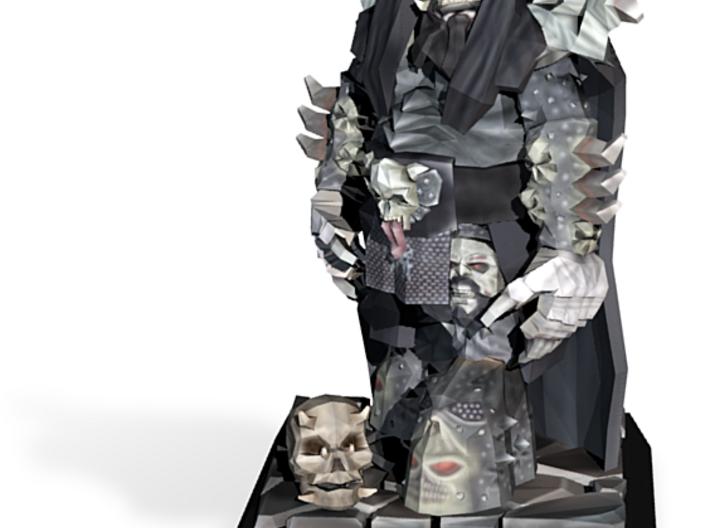 Lordi Low Poly Figure 3d printed