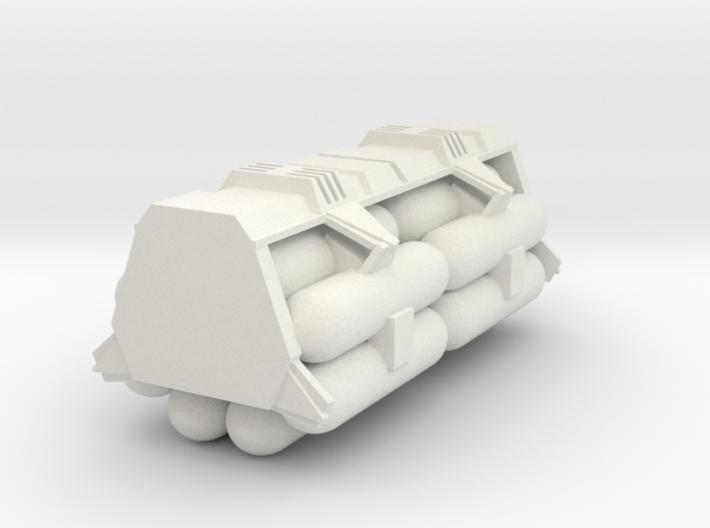 1:72 Work Bee Liquid Carrier Version 1 3d printed