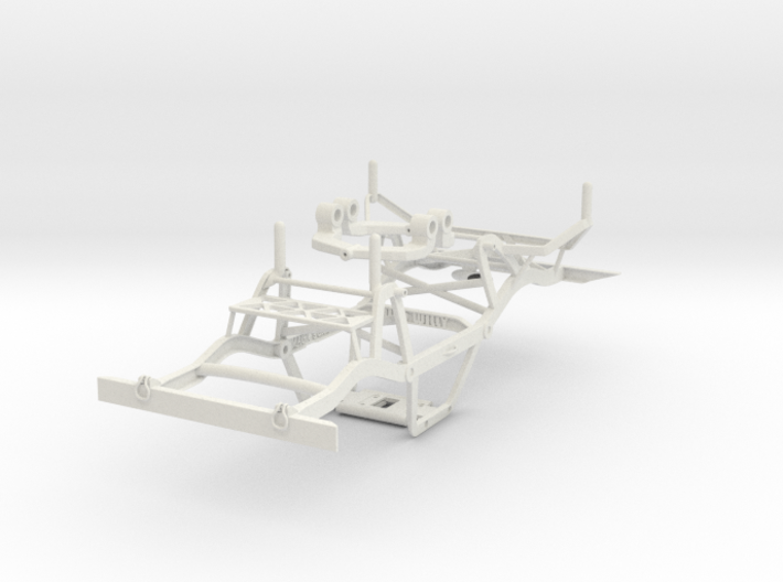 Wild Willy chassis for losi mrc/Vatera slick rock 3d printed