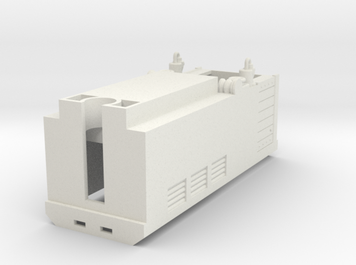 HOe-loco01b - Hoe transkit for N Fleischmann 7305 3d printed