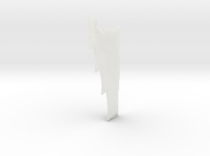 Nautilus Dorsal Fin B31 3d printed