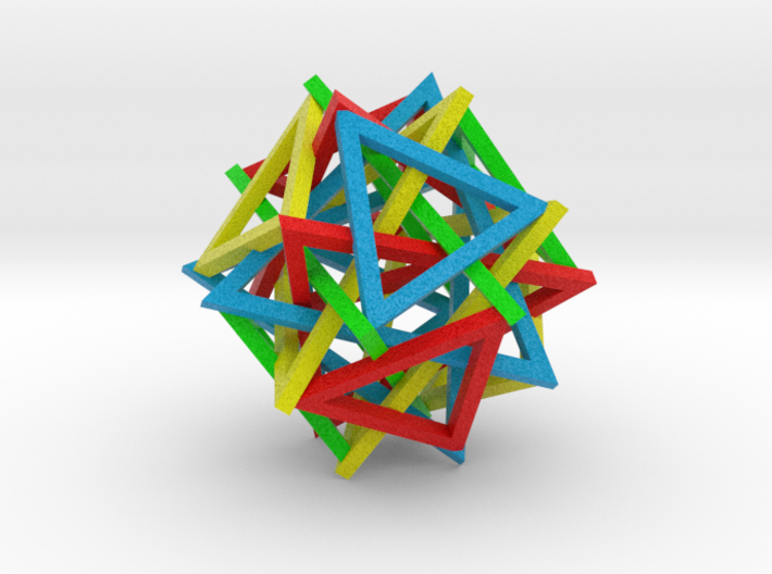 Triangle Jumble 3d printed