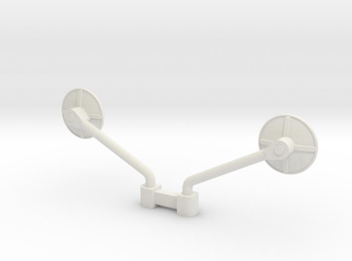 1/32 scale Peterbilt corner mirror ASM 3d printed