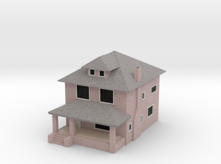 Sears Rockford House - Mirror - Zscale 3d printed