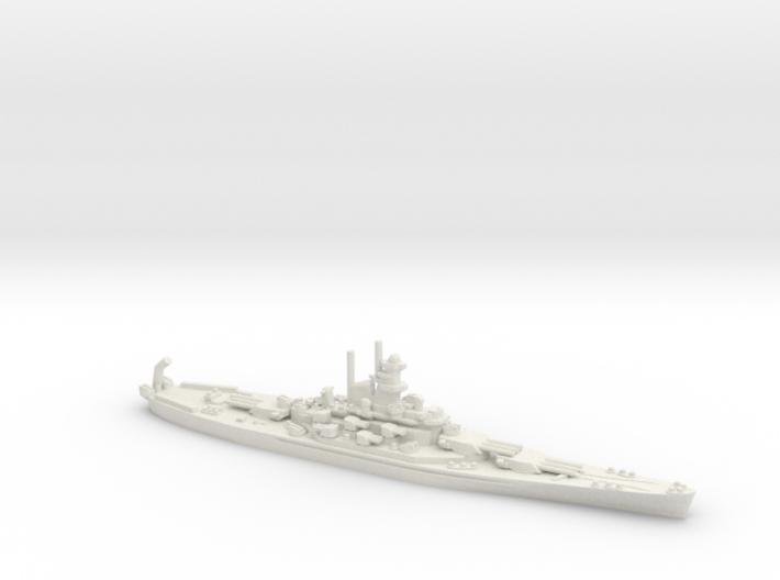 USS Alabama (BB-60) 3d printed