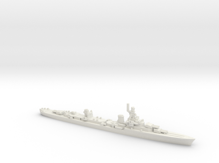 French Cruiser Emile Bertin 1945 3d printed