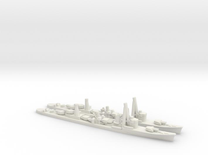 Japanese Asashio-Class Destroyer (x2) 3d printed