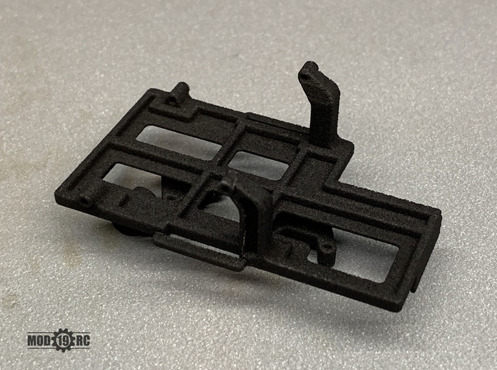 SCX24 Low CG Battery Tray + Shock Towers 3d printed