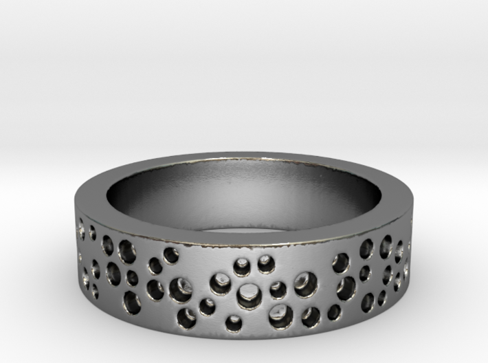 Constellation Ring 3d printed