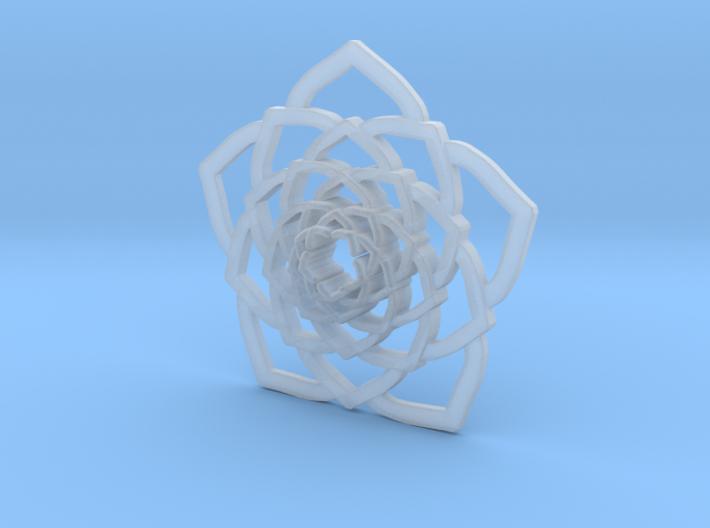 Lotus Flower 3d printed