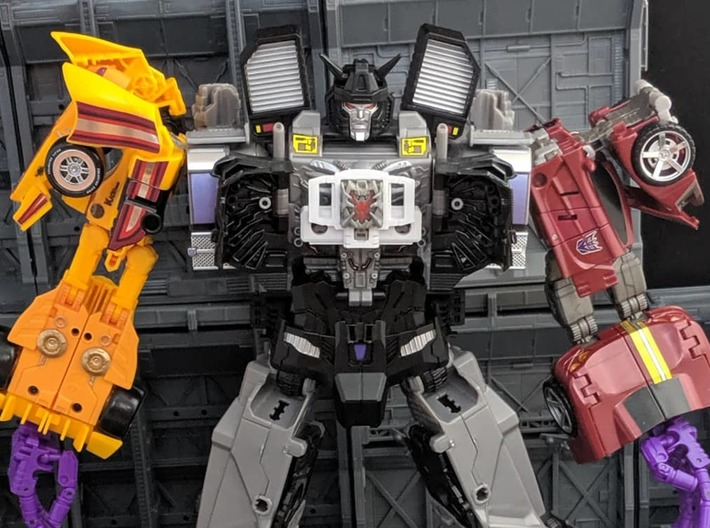 TF CW Truck Matrix adapter 3d printed Menasor with Prime Master added