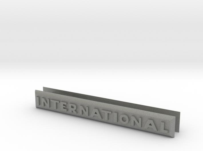 2 x International Badges for Gen 8 3d printed